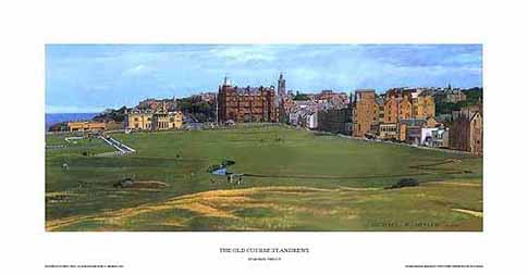 The Old Course, St. Andrews, golf course, Scotland